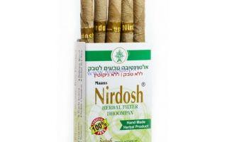 Что такое индийские сигареты Нирдош на основе трав?