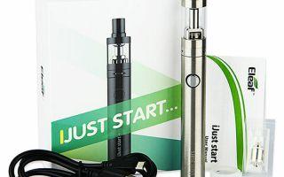 Стартовые наборы электронных сигарет для новичков. Топ-5 и обзор.
