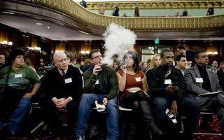 Можно ли курить iqos в общественных местах