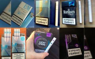 Что такое сигарета с кнопкой/капсулой