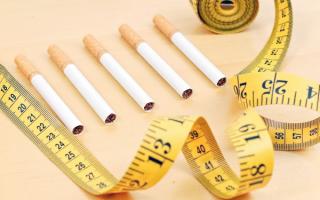 Почему когда бросаешь курить набираешь вес?