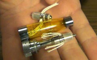 Как и какими способами можно промыть испаритель электронной сигареты?