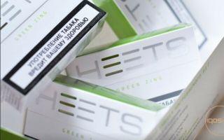 Новые вкусы стиков Heets для Айкос