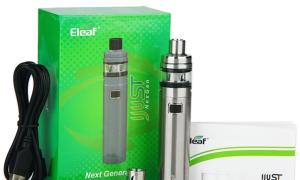 Всё, что необходимо знать об электронной сигарете айджаст некст ген