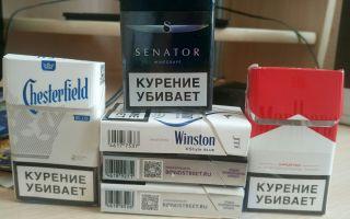 Рейтинг крепких сигарет в России