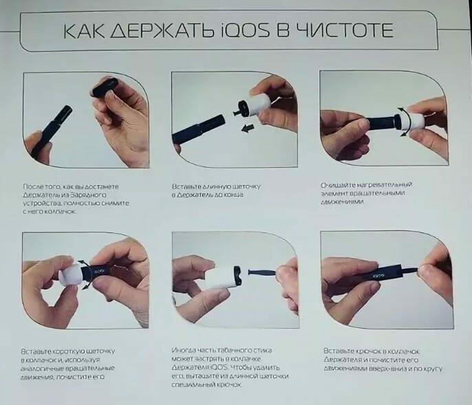 Акос инструкция по применению айкос