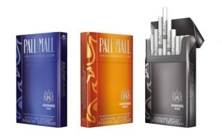 Сигареты марки Pall Mall