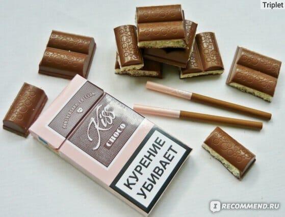 Сигареты кисс шоколадный купить ограничения реализации табачных изделий