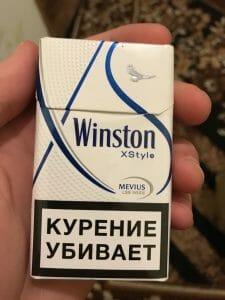 Сигареты винстон икстайл синий купить электронная сигарета купить в беларуси с доставкой
