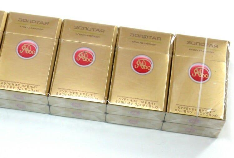 купить сигареты ява 100 золотая классическая в москве дешево