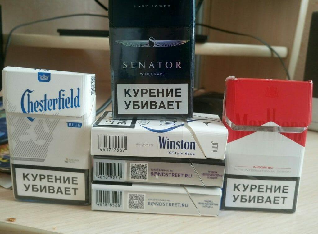 Список производителей табачных изделий ментол для сигарет где купить
