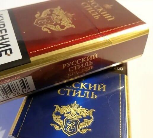 Купить сигареты русский стиль компакт сигареты домодедово купить