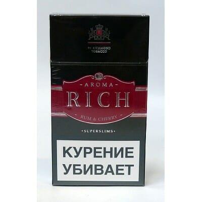 Сигареты рич купить тюмень без никотина электронная сигарета одноразовая купить