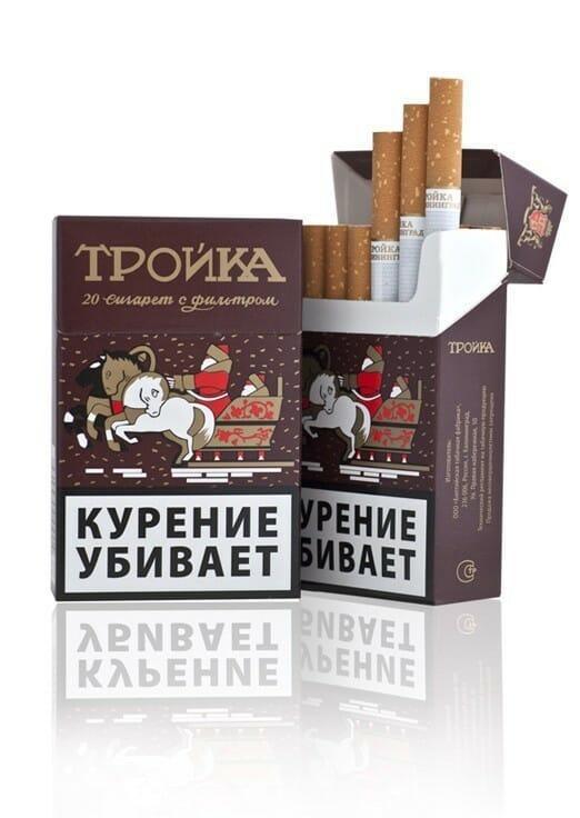 сигареты тройка купить в москве дешево
