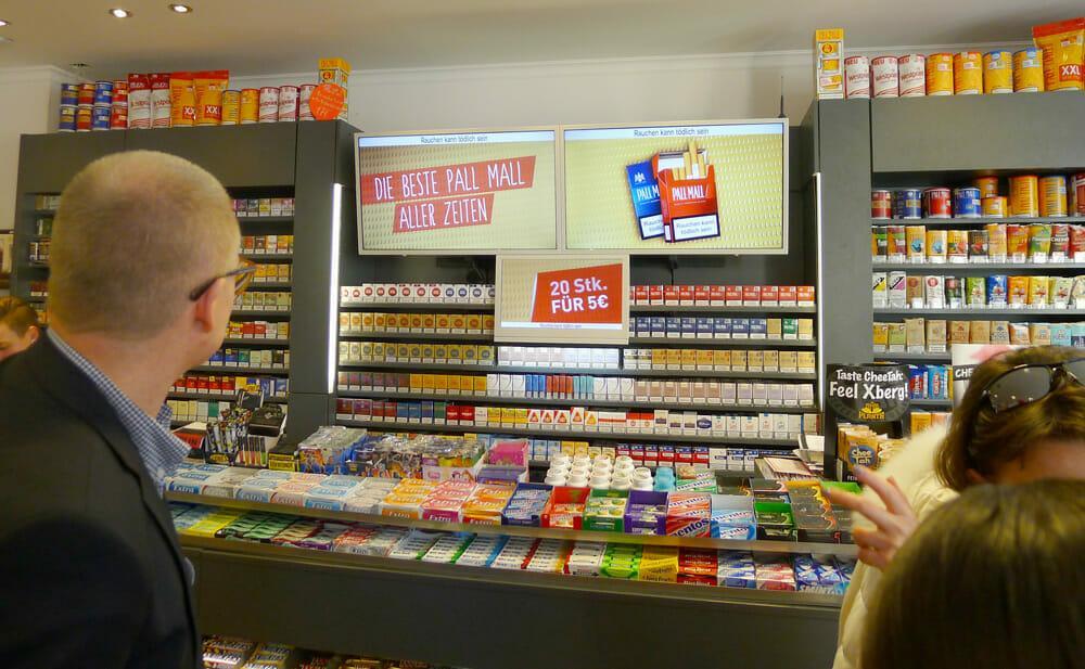 куплю сигареты в германии цены