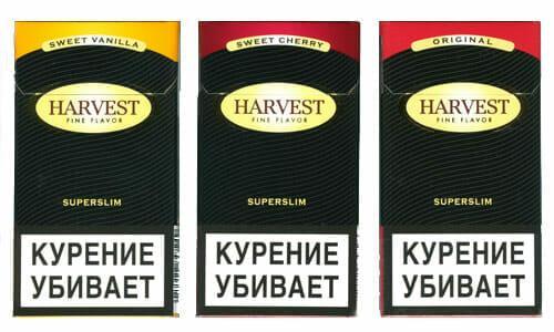 где купить сигареты харвест