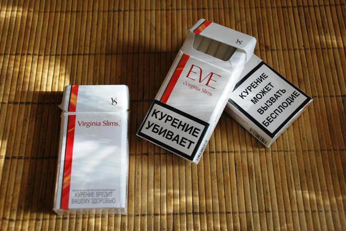 eve вирджиния слимс сигареты купить