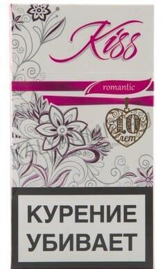 Сигареты кисс романтик купить одноразовая электронная сигарета